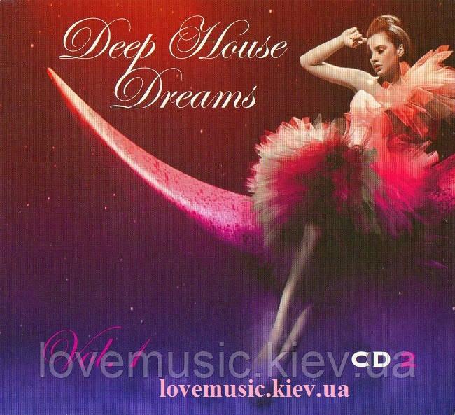 Музичний сд диск DEEP HOUSE DREAMS vol. 1 CD2 (2012) (audio cd)