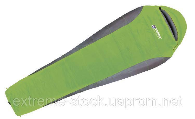 Спальник Terra incognita Siesta 400  Regular зелёный, правый