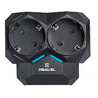 Сетевой фильтр питания REAL-EL AR-01, black (EL122300005), фото 1