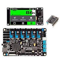Плата управления Lerdge K + 6x TMC2208, 32бит ЖК 3.5'' для 3D-принтера