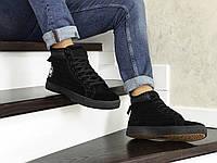 Зимние мужские кроссовки Converse, черные