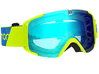 Очки Salomon Xview NeonYeli Uni Mild Blue 2020
