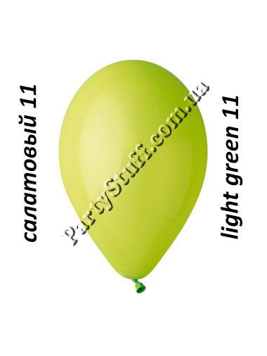 шарики воздушные 12 дюймов салатовые