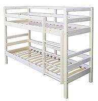 Кровать детская двухъярусная, массив сосны