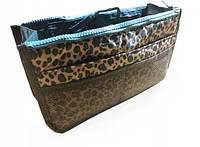 Органайзер для сумочки Bag-in-Bag Леопардовый