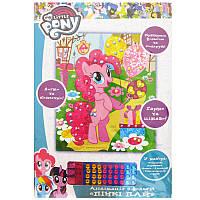 Набор для творчества Росмэн/Перо Картинка-аппликация 17*20,5см My Little Pony Пинки Пай 711149