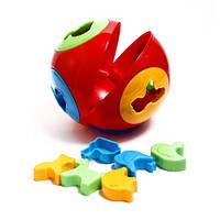 Развивающая игрушка с сортером Шар 2 серии Умный малыш (3237) Интелком