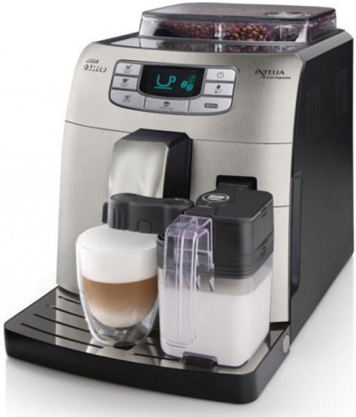 "Кавоварка  Philips Saeco Intelia Evo One Touch Cappuccino Silver - ""RESTO Prof""-комплексне оснащення Магазинів,Кафе,Ресторанів в Львове"