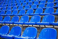 Сиденья для стадионов, спортивных площадок, трибун.