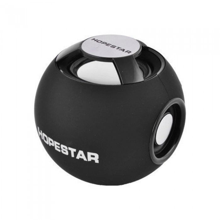 Портативная Bluetooth колонка Hopestar H46 ФМ, MP3, USB Чёрная