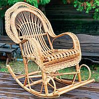 Кресло - качалка из лозы (бесплатная доставка)