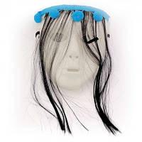 Маска пластик Самара с волосами