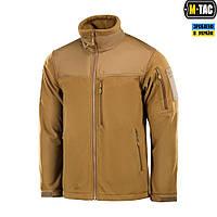 M-Tac куртка флисовая Alpha Windblock Coyote Brown