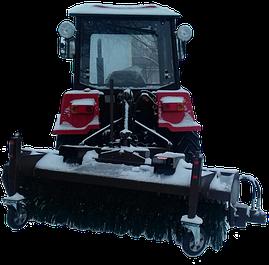 Щетки для мини тракторов