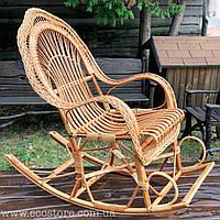 Кресло-качалка плетеное из лозы (бесплатная доставка)