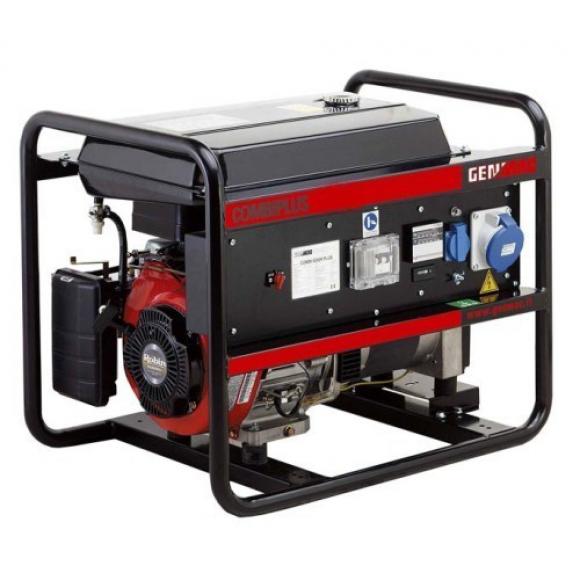 Трехфазный бензиновый генератор Genmac Combiplus 7900REPR (8 кВа)