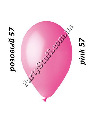 шар воздушный 12 дюймов розового цвета