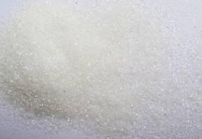 Глиттер (блестки) белый 500г