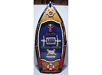 Ключница на 4 крючка в морском стиле KC3013, оригинальная ключница, ключница для дома, настенная ключница