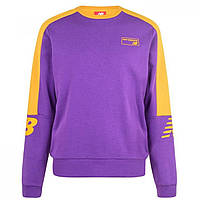 Худи New Balance Balance 90s Crew Sweater Purple - Оригинал