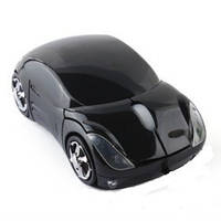 Беспроводная мышка машинка мышь mouse-c Black