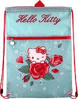 Сумка для обуви с карманом Hello Kitty KITE HK15-601-1K
