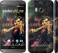"""Чехол на HTC One M8 Шерлок """"438c-30"""""""