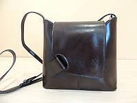 Молодежная кожаная сумка из Италии