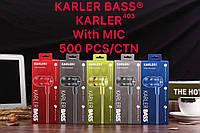 Наушники вакуумные KARLER KR403