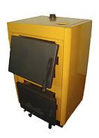 Одноконтурный котёл на твердом топливе КОТВ-10 огонек, фото 1