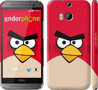 "Чехол на HTC One M8 Angry birds. Red. ""542c-30"""