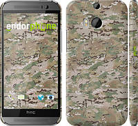 "Чехол на HTC One M8 dual sim Камуфляж v5 ""1201c-55"""