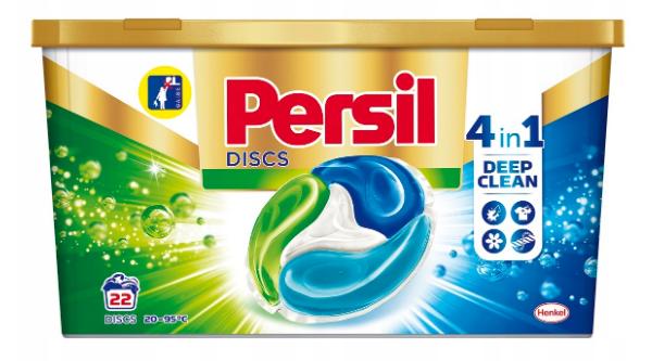 Капсулы для стирки Persil Discs Universal Deep Clean (22шт.)
