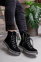 Женские зимние ботинки натуральная кожа и мех с 36 по 40 размеры