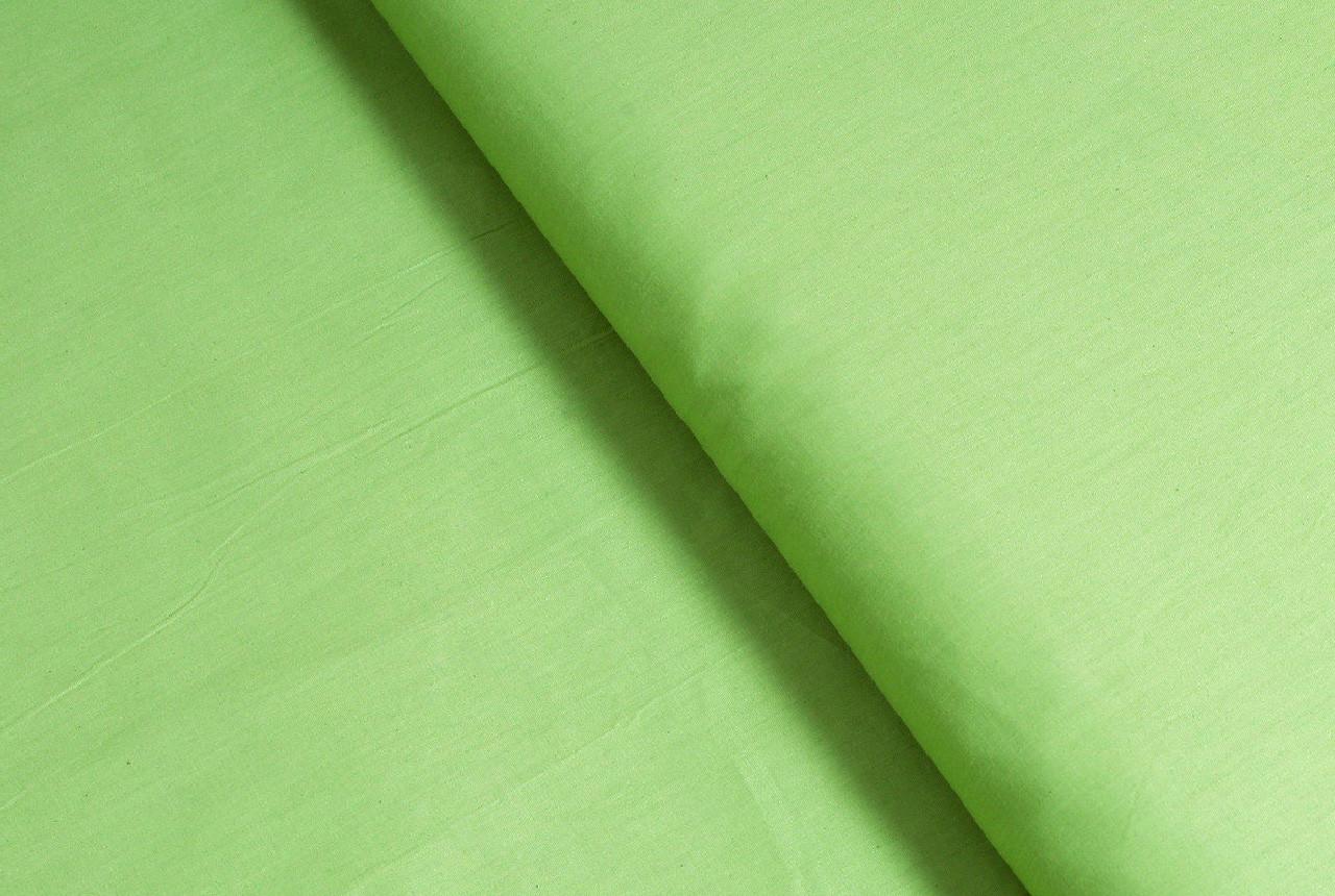Сатин-твил Светло-зеленый