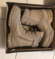 Всесезонные тактические песочные чёрные ботинки берцы Rock River