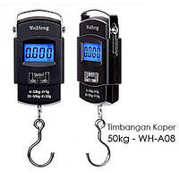 Весы цифровые электронные до 50 кг WeiHang (весы безмен) WH-A08