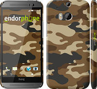 "Чехол на HTC One M8 Камуфляж v2 ""1096c-30"""