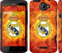 """Чехол на HTC One X Реал Мадрид 1 """"342c-42"""""""