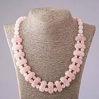 Ожерелье Розовый кварц Клеопатра
