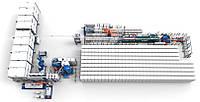 Aвтоматизированный завод по производству пенопласта VIRO EPS
