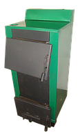 Котел твердотопливный Огонек КОТВ-25 В (двухконтурный)