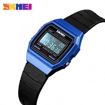 Cпортивные детские часы SKMEI 1460 синие