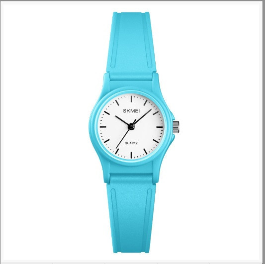 Кварцевые детские часы SKMEI 1401 светло синие