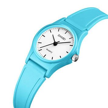 Детские часы SKMEI 1401 светло синие кварцевые
