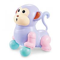Игрушка Электронная Музыкальная Лед лампа Мультяшная обезьянка D Jin Shang Lu Фиолетовая