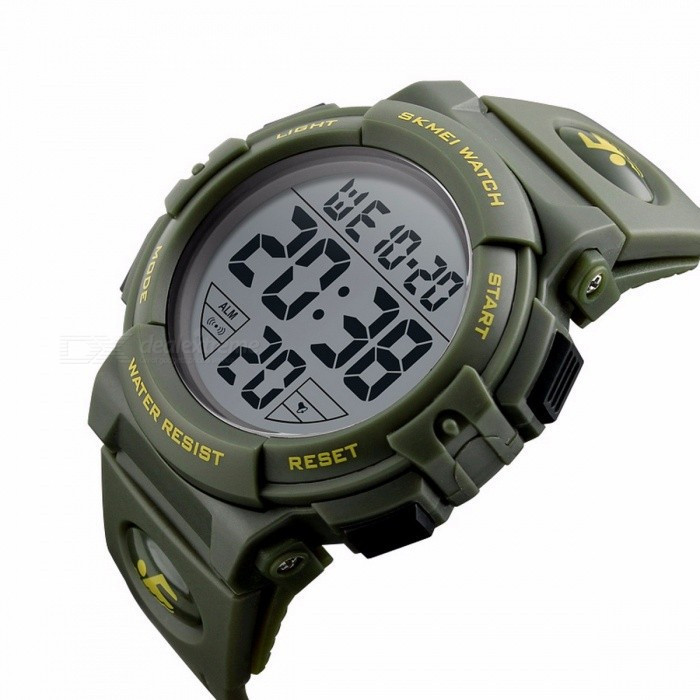 Skmei 1258 зеленые мужские часы