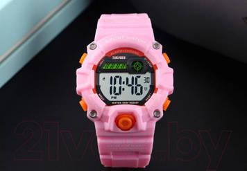 Skmei 1484 розовые спортивные детские часы