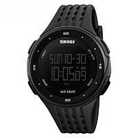 SKMEI 1219 черные наручные спортивные часы