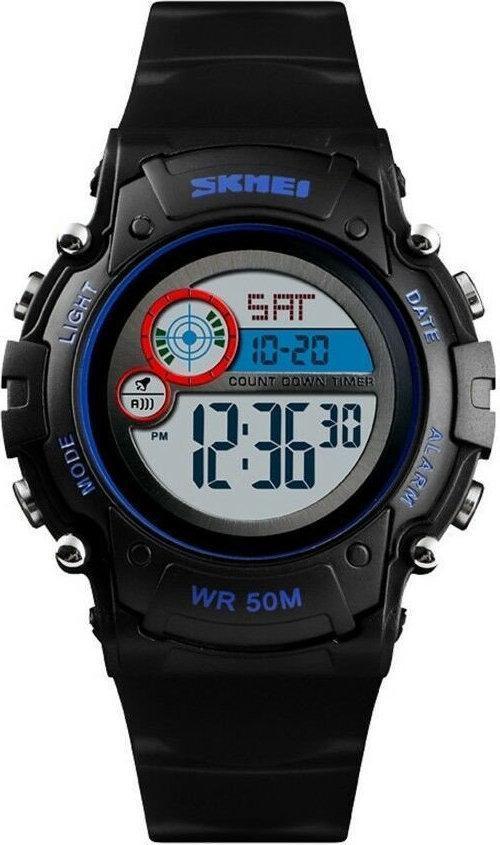 SKMEI 1477 черные спортивные детские часы